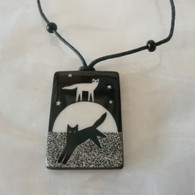 VIRGINIA MISKA CERAMIC JEWELRY Moondance Necklace
