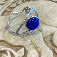 THE ARTIST JAY Shiny Blue Teardrop Cuff
