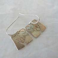 STUART PETERMAN JEWELRY Silver Tree Earrings
