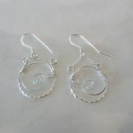 LeDance Portal Silver Earrings