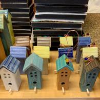 MACONE STUDIO  MINI BIRD HOUSES
