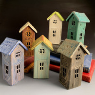 MACONE STUDIO  FAIRY HOUSES