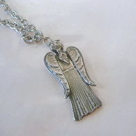 FLATWARE JEWELRY DESIGN Angel Spoon Necklace