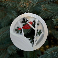 SONDRA GERBER Snow Bird Hanging Ornament