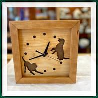 SABBATH-DAY WOODS  Dog Clock