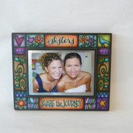 MACONE STUDIO SISTERS SHARE THE JOURNEY WOOD PICTURE FRAME