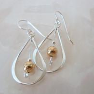 THOMAS KUHNER JEWELRY Sterling Silver Teardrop Earrings