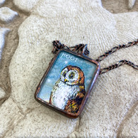 ALYSSE HENNESSEY's Hoot Owl Necklace