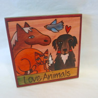 SINCERELY STICKS  All Creatures Great & Small Hanging Plaque