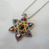 PELEG-ALLWEIS JEWELRY Golden Star of David Necklace