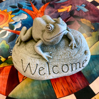 CARRUTH STUDIO Frog Welcome
