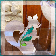 SONDRA GERBER Woodland Squirrel Sculpture