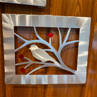 SONDRA GERBER  Bird with Berries Panel