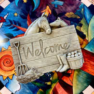 CARRUTH STUDIO Horse Lover's Welcome