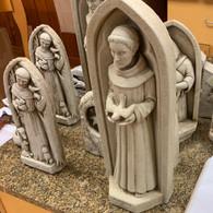 CARRUTH STUDIO  WNC Saint Frances Statue