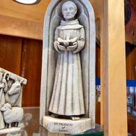 CARRUTH STUDIO  WNC St. Frances Statue