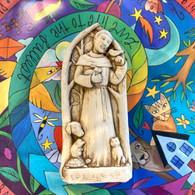 CARRUTH STUDIO  St. Francis Blesses the Animals