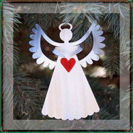 SONDRA GERBER Joy Angel Hanging Ornament