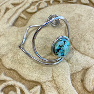 THE ARTIST JAY Forest Spirit Curly Q Circle Cuff