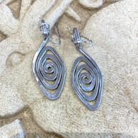 THE ARTIST JAY Spiral Eye Earrings