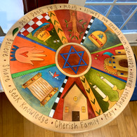 SINCERELY STICKS  Family Traditions Lazy Susan