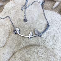 CLOSE TO YOUR ❤️Love Bird Cardinals Necklace