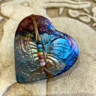 JOHN DAVIS RAKU Butterfly Spirit Rattle