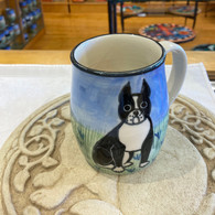 Boston Terrier Ceramic Mug Handmade in the USA