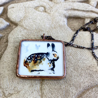 ALYSSE HENNESSEY  BUNNY NECKLACE