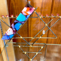 GARY ROSENTHAL Star of David Menorah