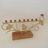 GARY ROSENTHAL Tree of Life Menorah