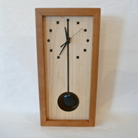 SABBATH-DAY WOODS Tall Wall Box Clock