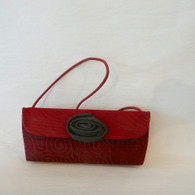 BEAUTIFUL BAGS  Red Jacquard