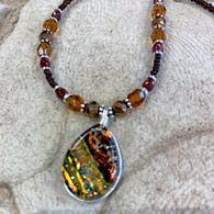 SEA OF GLASS Autumn Gold Necklace