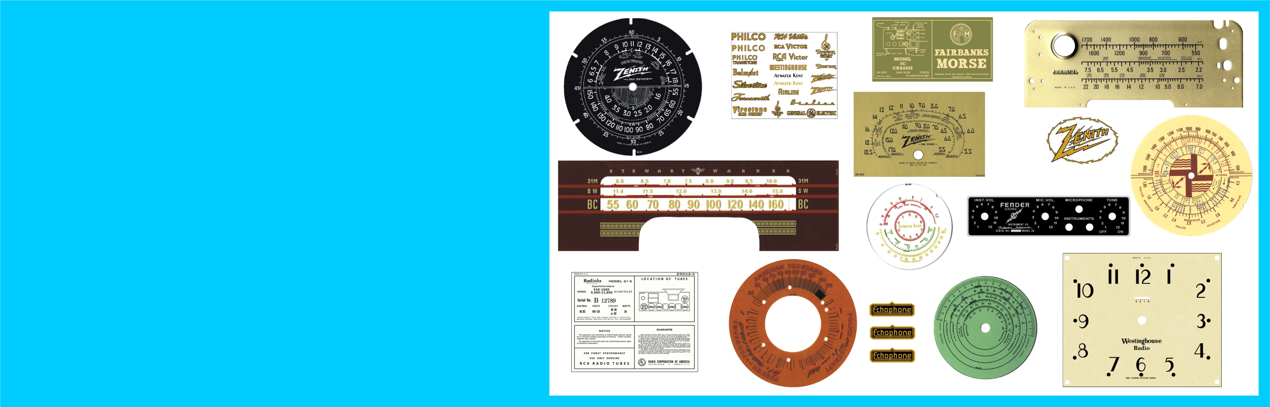Radio Daze Llc Old Style Fuse Box Parts Reproduction Graphics