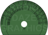 Crosley 167 Dial - Green Version (Item: DS-A392G)