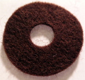 Felt Washer - 1.0 OD (Set of 5) (Item: FWK-1.0)