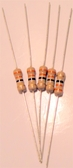 Carbon Film Resistor - 1/2 Watt - Package of 5 (Item: R-CFA)