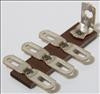 Terminal Strip,3 dual,0gnd,vert-package of 5 (Item: TS3-G)