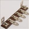 Terminal Strip,4lugs,0gnd,1 7/8-package of 5 (Item: TS4-E)