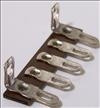 Terminal Strip,5lugs,2gnd,1 1/2-package of 5 (Item: TS5-D)