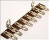 Terminal Strip,8lugs,2gnd,1 7/8-package of 5 (Item: TS8-C)