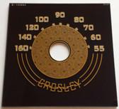 Crosley 10-145M Dial (Item: DG-309)
