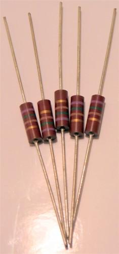 1//2 Watt 5/% 62K Ohm Carbon Composition Resistor NOS