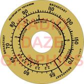 Grunow 588 Dial (Item: DS-A656)