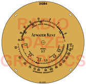 Atwater Kent 317 Dial (Item: DS-A623)