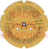 Airline Model 62-123,62-131,62-132,62-133,62-137,62-142,62-144,62-152,62-158 Dial (Item: DS-A628)