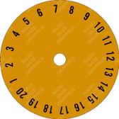 Classic Symphonola Record Number Dial (LBL-SBG-002)