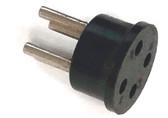Miniature Plug - 4 Pin (Item: PLG-4-AMIN)