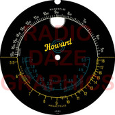 Plastic Dial - Howard Model 268 (Item: DS-A696)